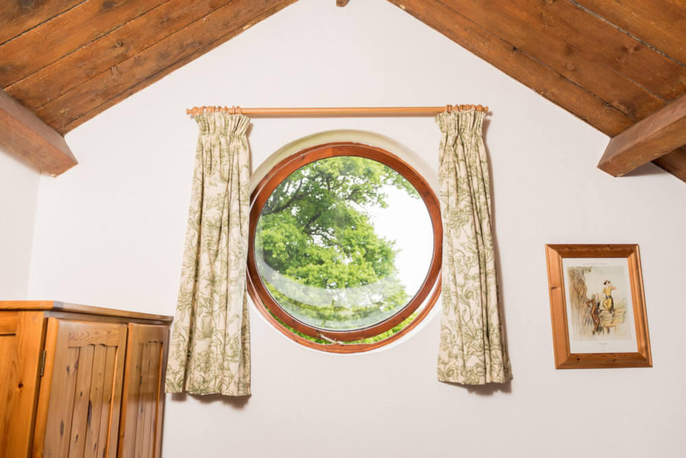 Bridgeview Cottage bedroom window