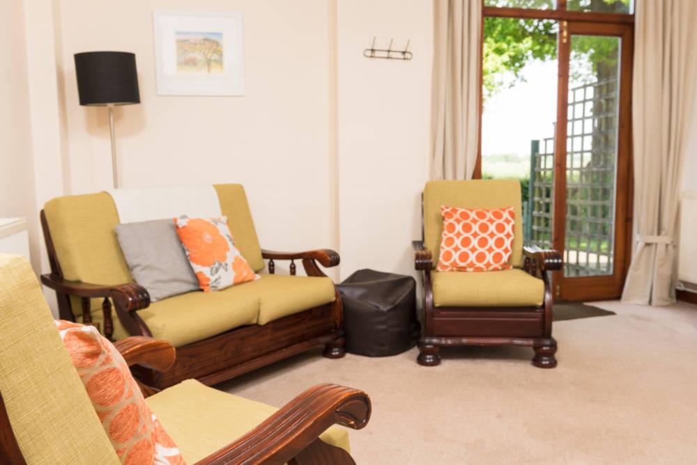 Heron Cottage lounge