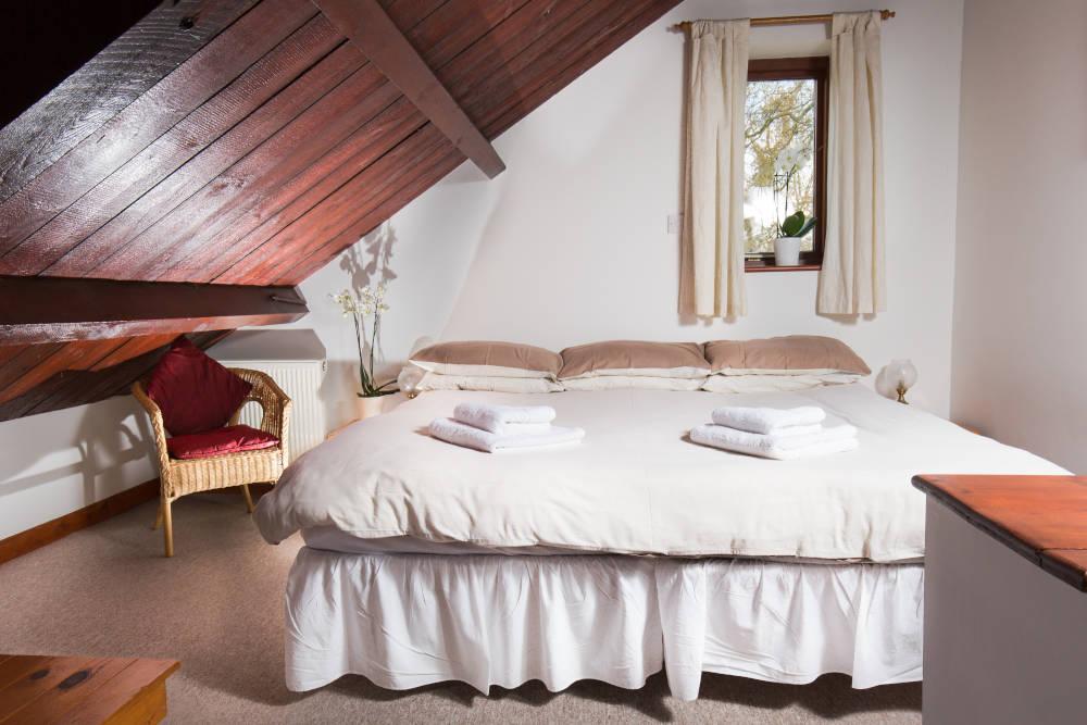 Kestrel Cottage upstairs bedroom