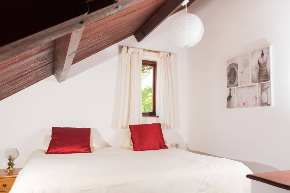 Heron Cottage upstairs bedroom