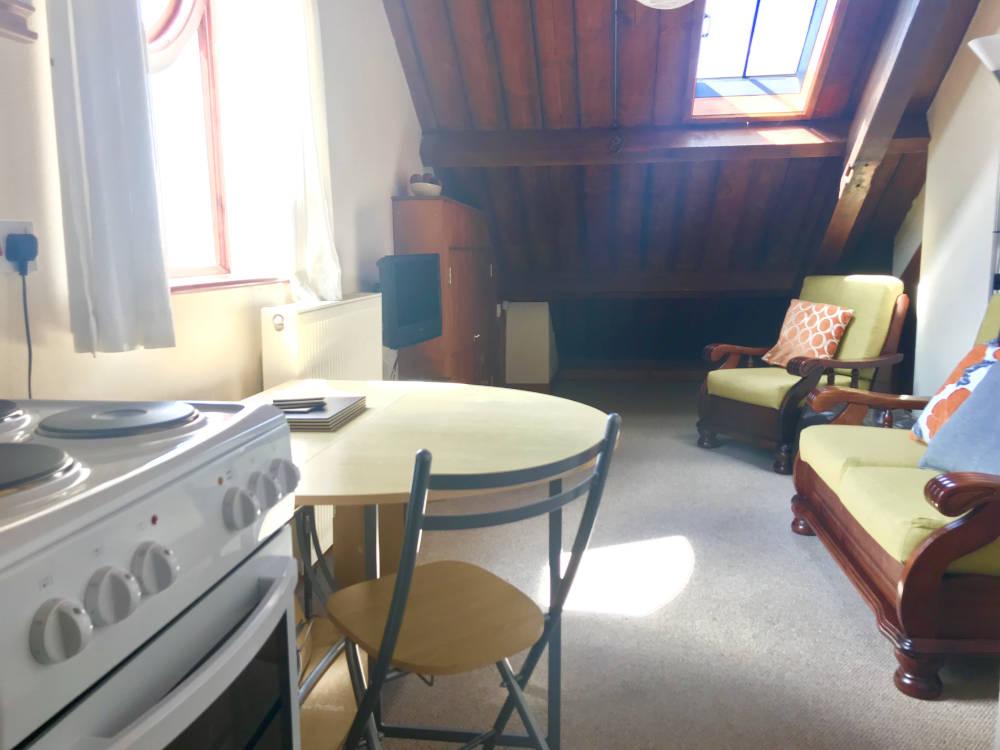 Loft Apartment Lounge area