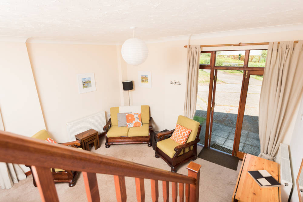 Kestrel Cottage lounge area